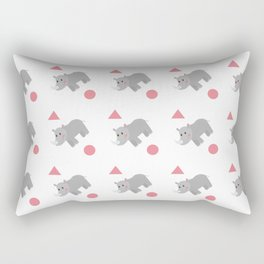 Rhinos Rectangular Pillow