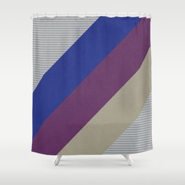 Dynamic Recording Video Cassette Palette Shower Curtain