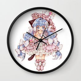 Kitty Princess Wall Clock