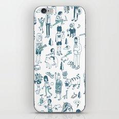 Crowd Pattern iPhone & iPod Skin