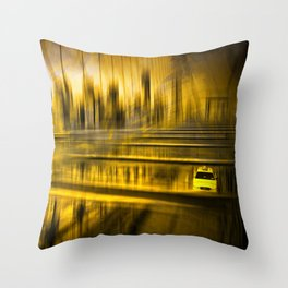 City-Shapes NYC Throw Pillow