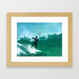 Ted Shred Framed Art Print