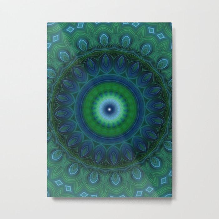 Mandala 11 Metal Print