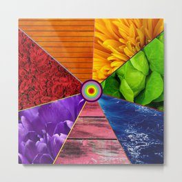 Rainbow Life - Beauty In Color Metal Print