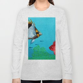 Butterfly & Bigeye fishes Long Sleeve T-shirt