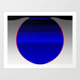 Small hours Art Print