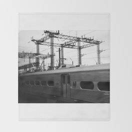 new york train Throw Blanket