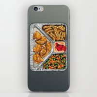 eat iPhone & iPod Skins featuring Eat Me by Rachel Caldwell