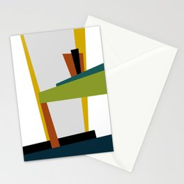 Mid Century Composition 2 Stationery Cards