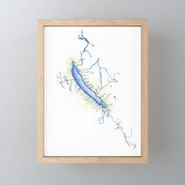 Otisco Lake Framed Mini Art Print