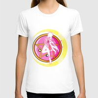 sailormoon T-shirts featuring In the name of the moon by Juliet García