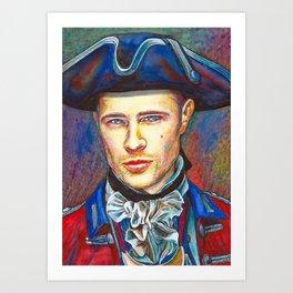 Lord John Grey (Outlander) Art Print
