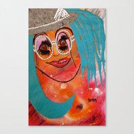 Miss JoY tetkaART Canvas Print
