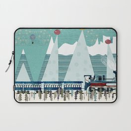 the penguin express Laptop Sleeve