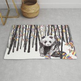 Panda Bear // Endangered Animals Rug