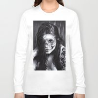day of the dead Long Sleeve T-shirts featuring Day Of The Dead by leonmorley