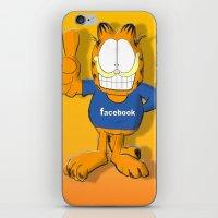 garfield iPhone & iPod Skins featuring GARFIELD by Dano77