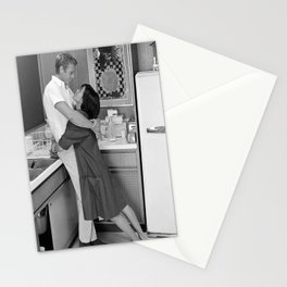 Steve McQueen poster Steve McQueen with his wife Steve McQueen mens fashion print Movie print valentines day Stationery Cards