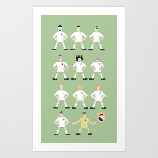 football madrid Art Print