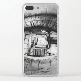 Vertigo effect Clear iPhone Case