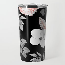 Night bloom - moonlit flame Travel Mug