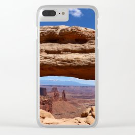 Mesa Arch View Clear iPhone Case