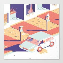 Paranoia 2 Canvas Print
