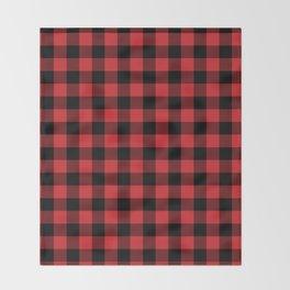 Buffalo Plaid Rustic Lumberjack Buffalo Check Pattern Throw Blanket