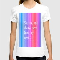 notebook T-shirts featuring Nicholas Sparks Notebook quote by Laura Santeler