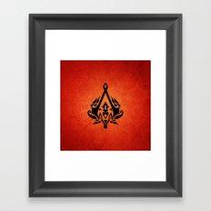 assassin's creed Framed Art Print