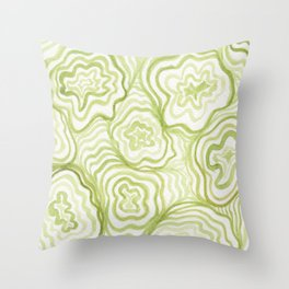 #25. STROM - Amoebas Throw Pillow