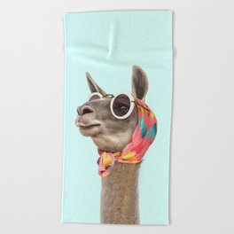 FASHION LAMA Beach Towel