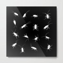 Roaches-Dark Metal Print