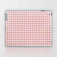 Houndstooth - Coral Laptop & iPad Skin