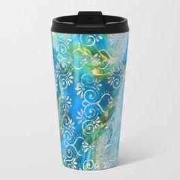 Psicodelic Adventure - Light Blue Travel Mug