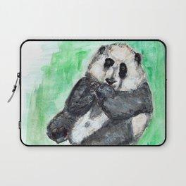 Scruffy panda Laptop Sleeve