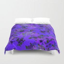 Heavenly Blue Garden Duvet Cover