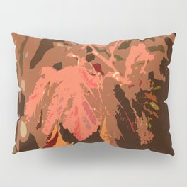 Abstract Fall Leaves Pillow Sham
