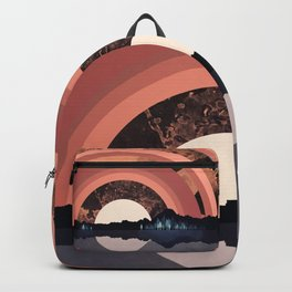 Forest Night Reflection Backpack