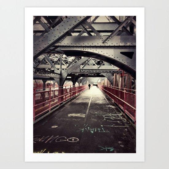 New York City Williamsburg Bridge Art Print