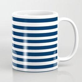 Navy-White ( Stripe Collection ) Coffee Mug