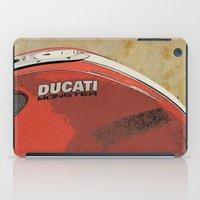 ducati iPad Cases featuring Ducati Monster by Larsson Stevensem