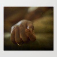 depression Canvas Prints featuring depression. by kimberlie ann photography