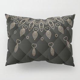 Abstract Vintage Floral V35 Pillow Sham