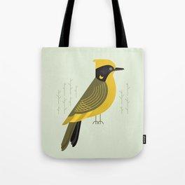 Helmeted Honeyeater, Bird of Australia Tote Bag
