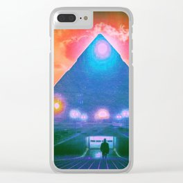 Enter the Tomb Clear iPhone Case