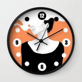 Smoke IV Wall Clock