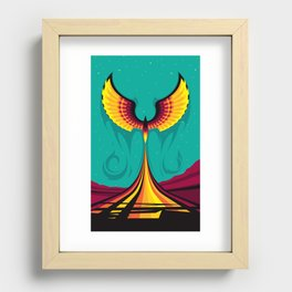 Phoenix Hope Recessed Framed Print