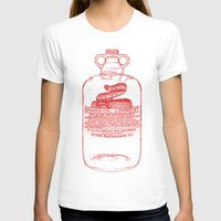 oil T-shirts featuring snake oil by looseleaf