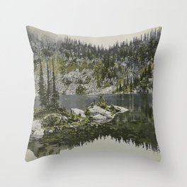 Mount Revelstoke National Park Throw Pillow